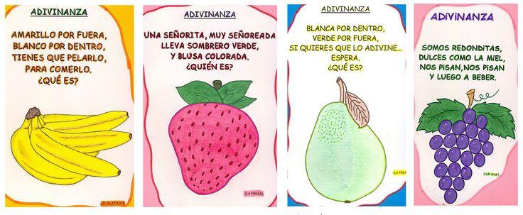 Adivinanzas: Frutas