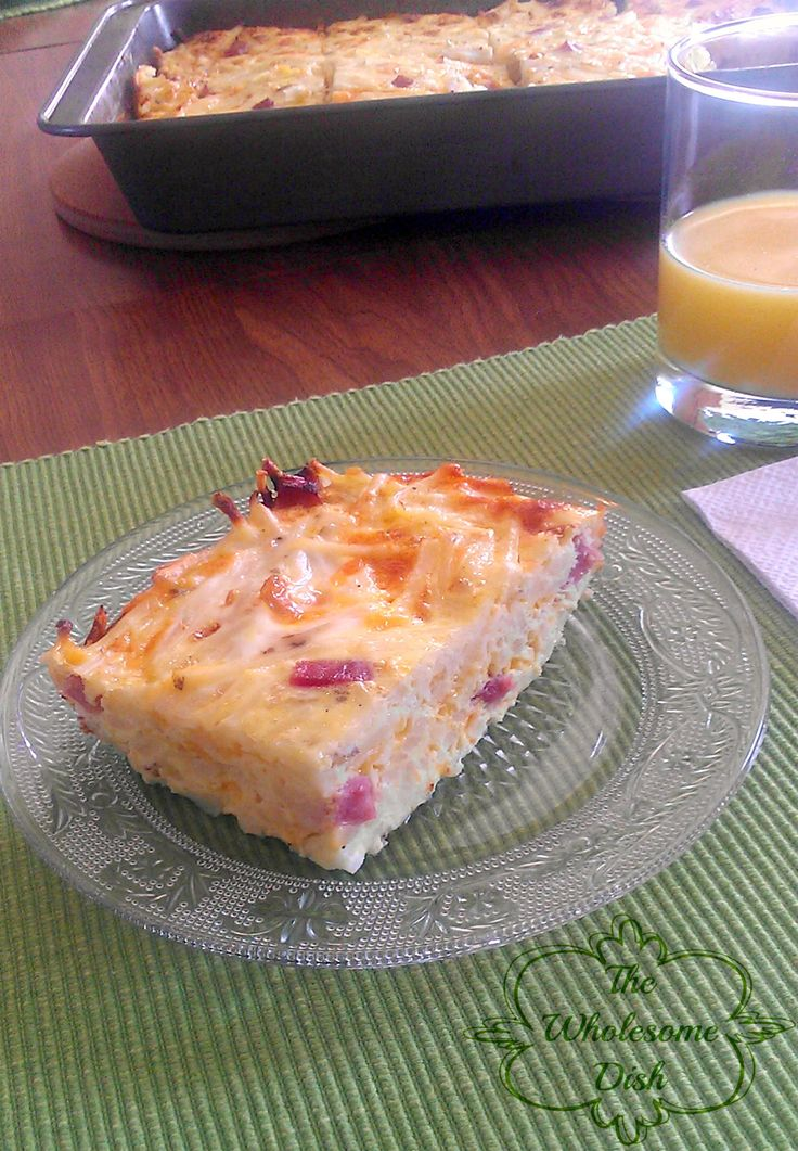 Easy Breakfast Casserole - Very good - I will add some spices ...
