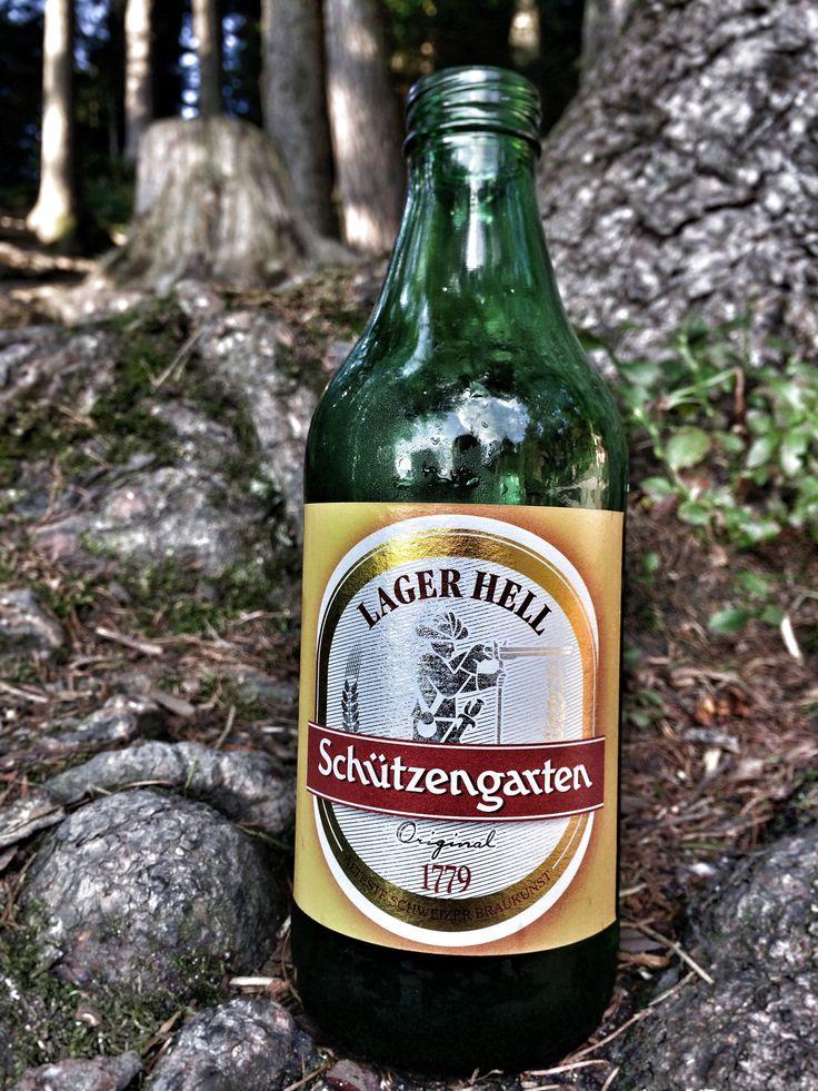 Schützengarten - Larger Hell, Schweizer Braukunst