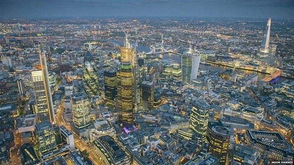 Captura aérea de Londres 1 (© Derechos Reservados de la