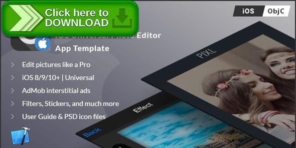 [ThemeForest]Free nulled download PIXL | iOS Universal Photo Editor App Template (Obj-C) from http://zippyfile.download/f.php?id=51116 Tags: ecommerce, aviary, blur, camera app, effects, filters, image editor, instagram, photo editor, picture, share