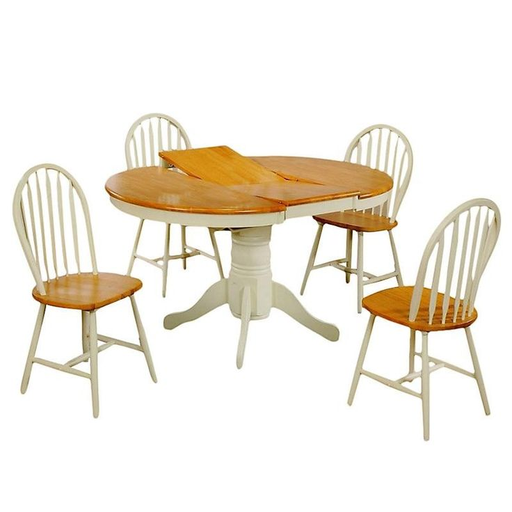 Dining Table Set With 4 Chairs - Dinner Tables - FURNITURE