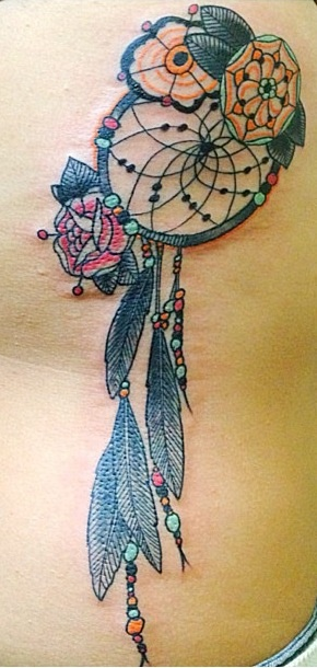 100 ideas to try about tattoos spine dream catcher for Best tattoo artists in the southeast