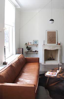 scandinavian Living room by Studio Buijs