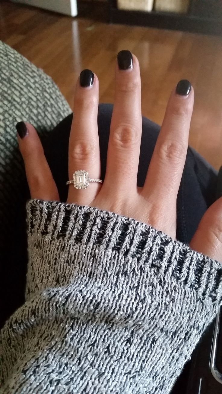 Show off your Emerald cut e-rings (halos a plus)!!! - Weddingbee | Page 2