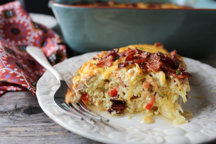 Chicken Bacon Ranch Casserole (video!) http://paleomg.com/chicken-bacon-ranch-casserole-video/  #ExclusivelyPaleo #Paleo Diet