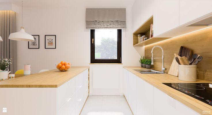 Kuchnia styl Skandynawski - zdjęcie od PRØJEKTYW | Architektura Wnętrz & Design - Kuchnia - Styl Skandynawski - PRØJEKTYW | Architektura Wnętrz & Design