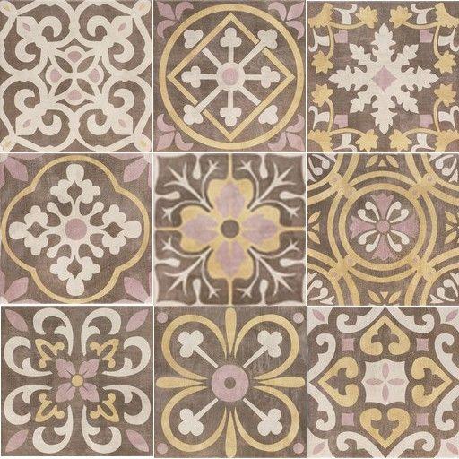 Теракота Cementine 20x20 - богатство от цветове и декори на топ цена — Gaudi DS