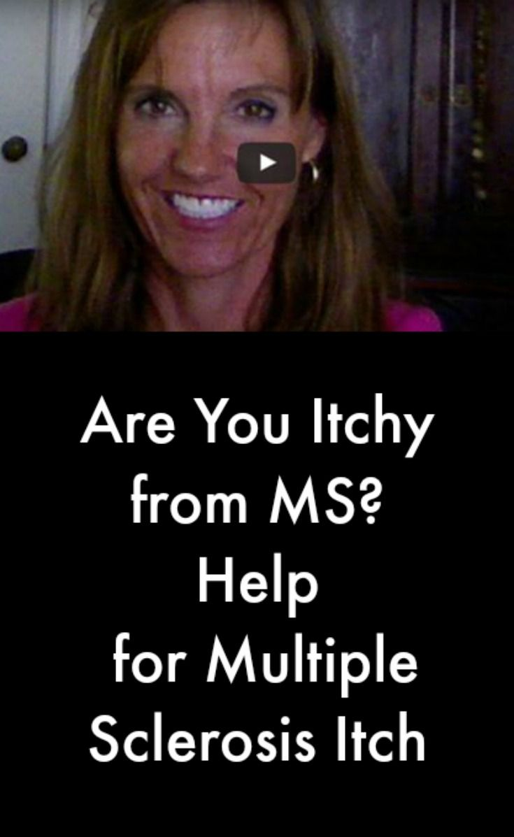 Help for Multiple Sclerosis Itch #MultipleSclerosisNewsToday