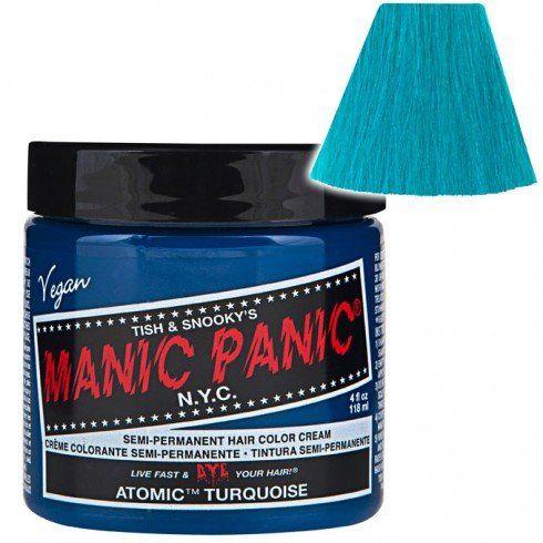 TOPSELLER! Manic Panic Atomic Turquoise Hair Dye... $8.63