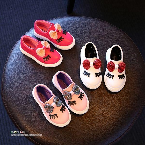 2016 осень пункт корейской версии детская обувь обувь для девочек Принцесса…