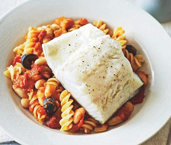 cod in tomato sauce   asda recipes 182 best asda   fab fish images on pinterest   fish pisces and      rh   pinterest