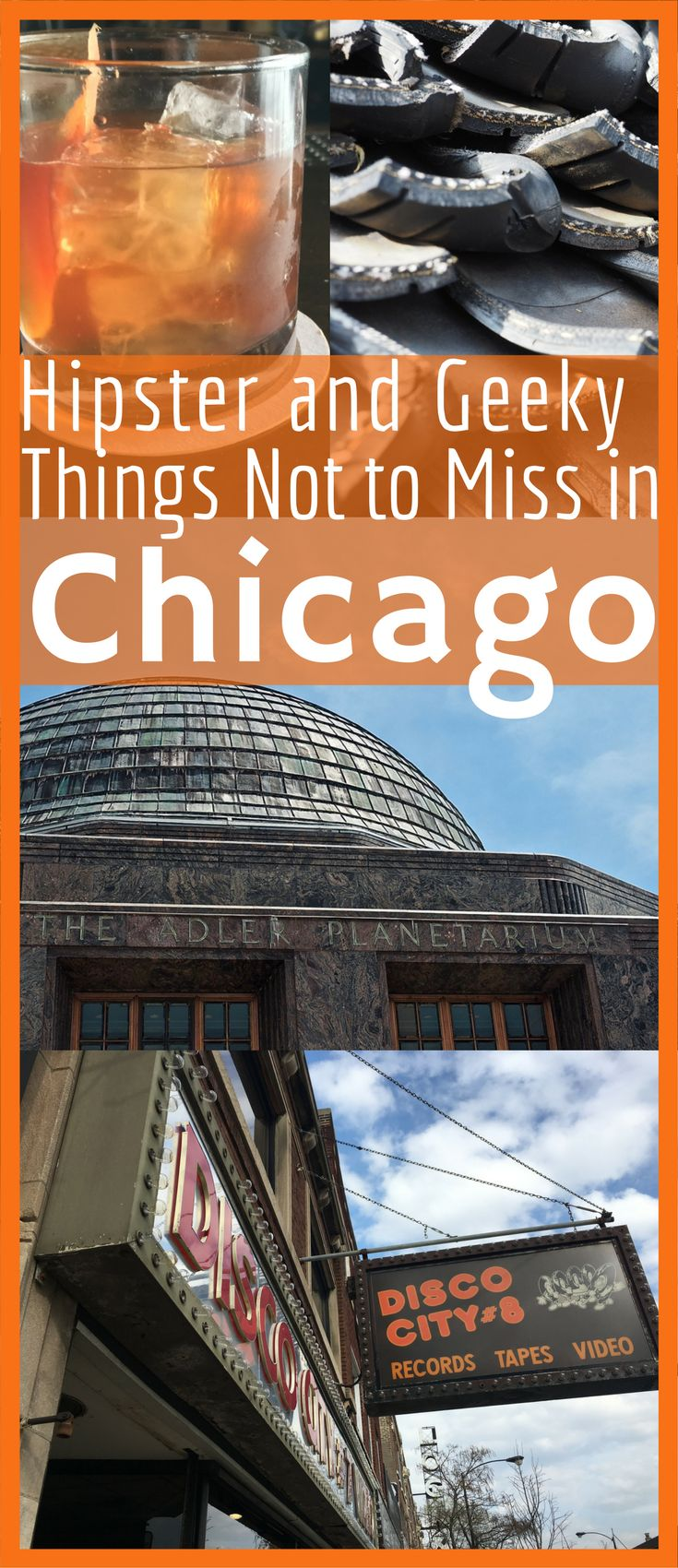 Don't miss these top hipster and geeky things to do in Chicago for your next trip in the U.S.A. This hipster and geek city guide to Chicago is everything you need for a fun weekend of dining at farm to table, shopping at markets, playing arcade games and drinking at craft cocktail bars and local breweries.