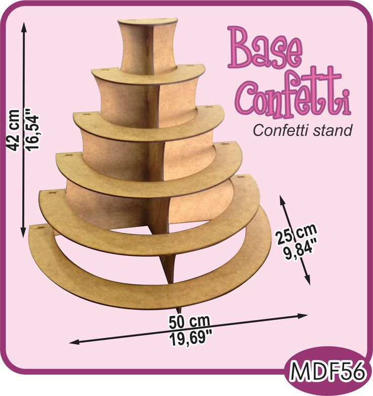 Base de 6 niveles para su mesa de dulces./6 leves stand for your candy bar or dessert buffet. -Pedidos/Inquiries to: crearcjs@gmail.com