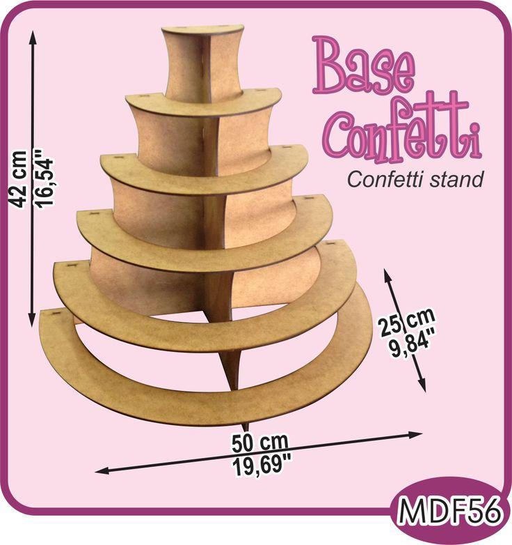Base de 6 niveles para su mesa de dulces./6 leves stand for your candy bar or dessert buffet. -Pedidos/Inquiries to: crearcjs@gmail.com