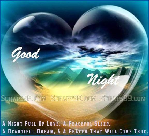 Good night images for facebook good night scraps - Good night nature pic ...