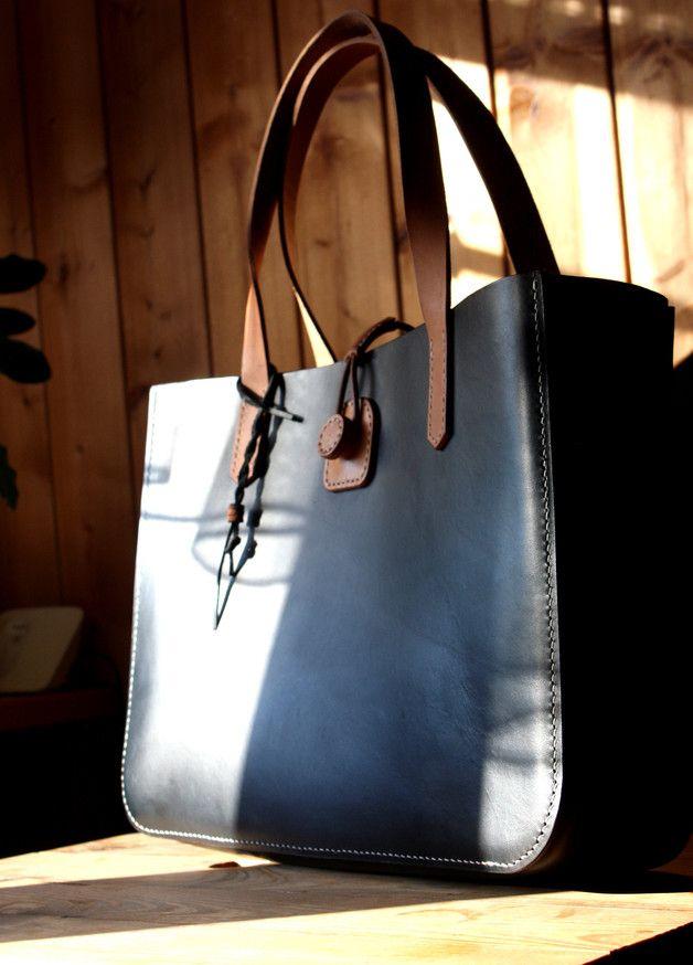 Ledertaschen - Damen Tasche - ein Designerstück von 79ine bei DaWanda #Handmade #leatherbag  made in #Germany