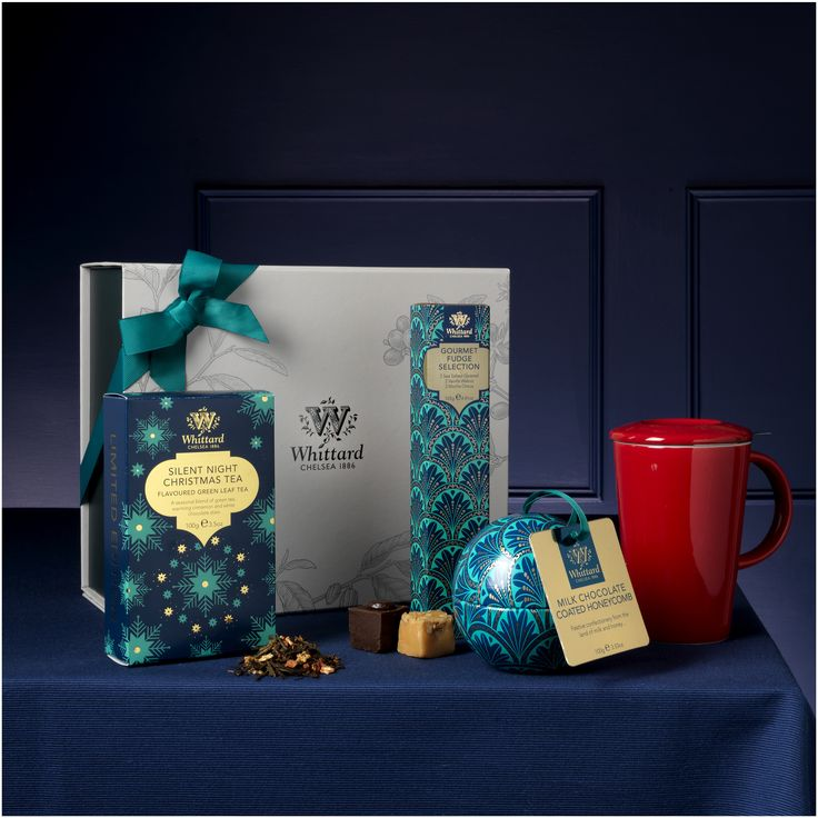 Buy the Night Before Christmas Gift Box  online from Whittard of Chelsea, part of our library of beautiful gifts for tea, coffee and cocoa lovers.