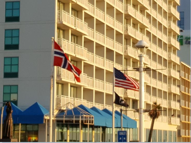 While visiting relatives in Virginia Beach, Virginia, I took a walk along the Atlantic Avenue boardwalk. Approaching 25th Street, I saw a Norwegian flag waving in the air. For a moment, I was baffled for a second, thinking that someone was a real Letters from Norway fan but then recalled the...