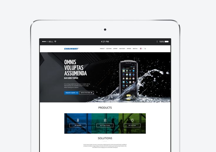 """Check out this @Behance project: """"Chainway website"""" https://www.behance.net/gallery/48086395/Chainway-website"""