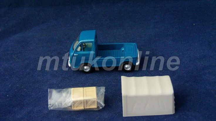 TOMICA LV 77 | SUBARU SAMBAR TRUCK 1966 | 1/64 | KCAR MINI TRUCK | BLUE