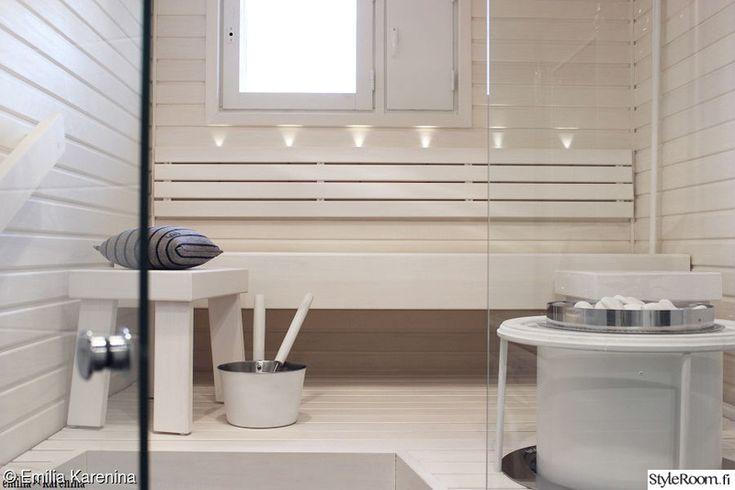 sauna,kylpyhuone,valkoinen sauna,kylpyhuoneen muutos