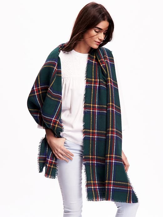 Brushed Flannel Scarf