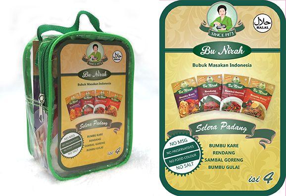Sticker Pack Bu Nirah Selera Padang