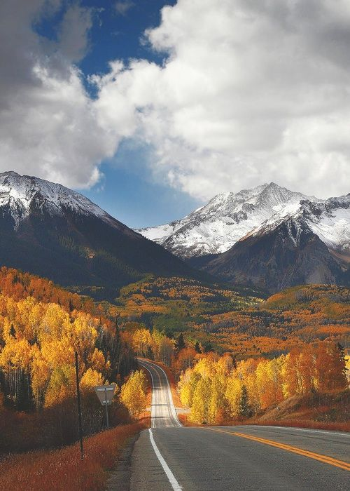 Photography Perfect Sky Landscape Trees Fall Mountains