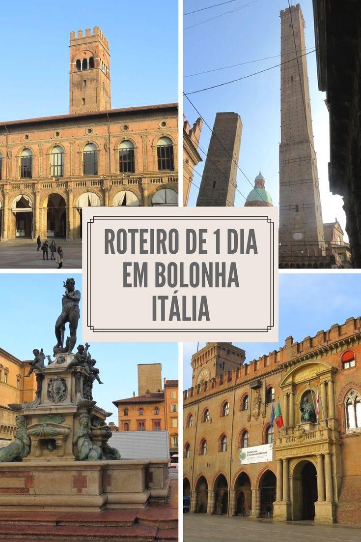 Roteiro de 1 dia em Bolonha, na Itália. Saiba o que fazer em Bolonha  http://www.contandodestinos.com/2016/07/bolonha-roteiro-de-1-dia-pela-cidade-da-italia.html
