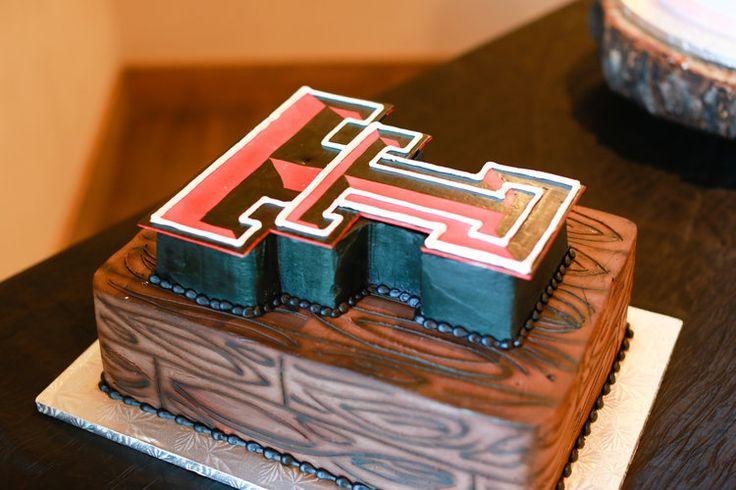 Texas Tech wedding cake!