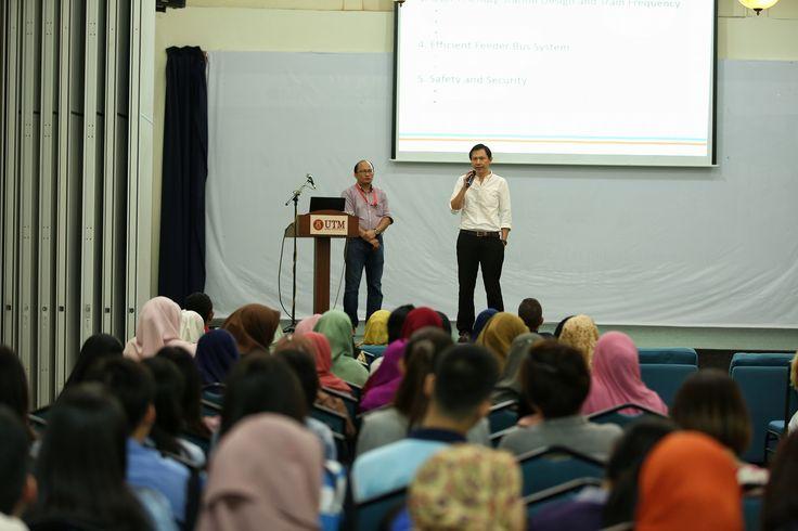 Talk on MRT Project by KVMRT Representatives | Photos