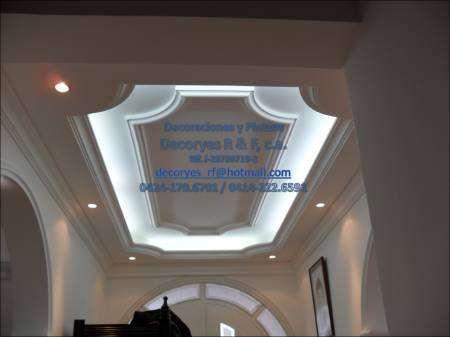 Fbrica de cornisas molduras trabajos en drywall muros techos