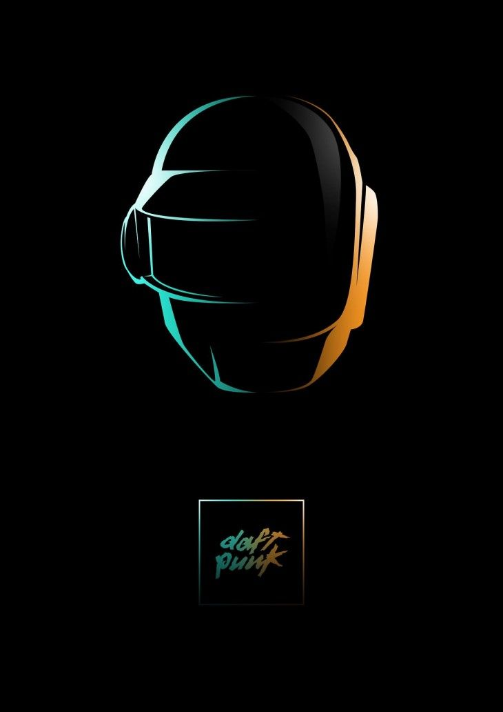 Tommi Muhonen Daft Punk fan posters2 730x1032 Artist Tommi Muhonen   Daft Punk fan posters