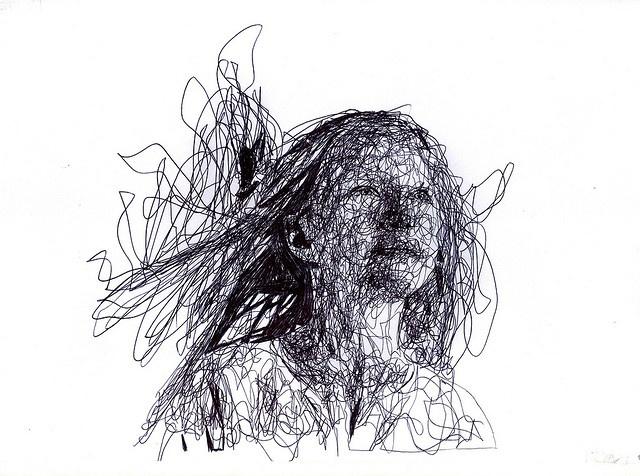 Girl portrait by Kris Trappeniers, via Flickr
