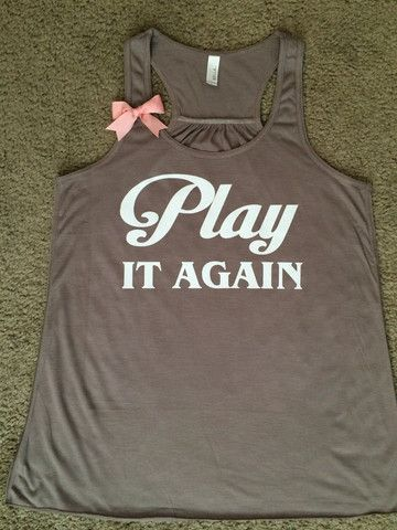 Play it Again - Luke Bryan Inspired - Country Tank - Ruffles with Love