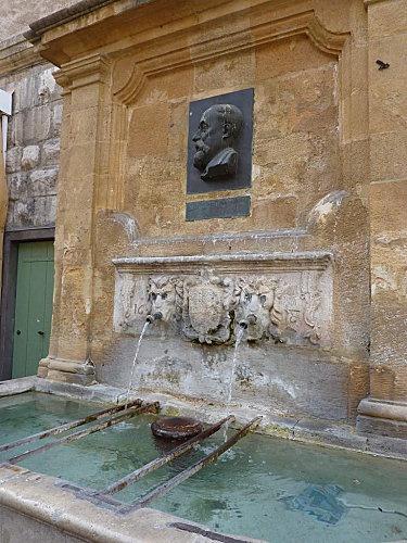 France, Bouches-du-Rhône, Aix-en-Provence, Fontaine Espéluque