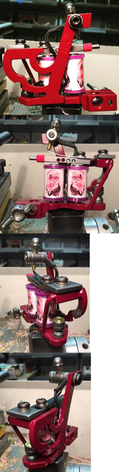 Tattoo Machines and Parts: Illadelphia Irons Tattoo Machine Liner Jay Coil Mike Wolfinger Art Handmade -> BUY IT NOW ONLY: $210.0 on eBay!