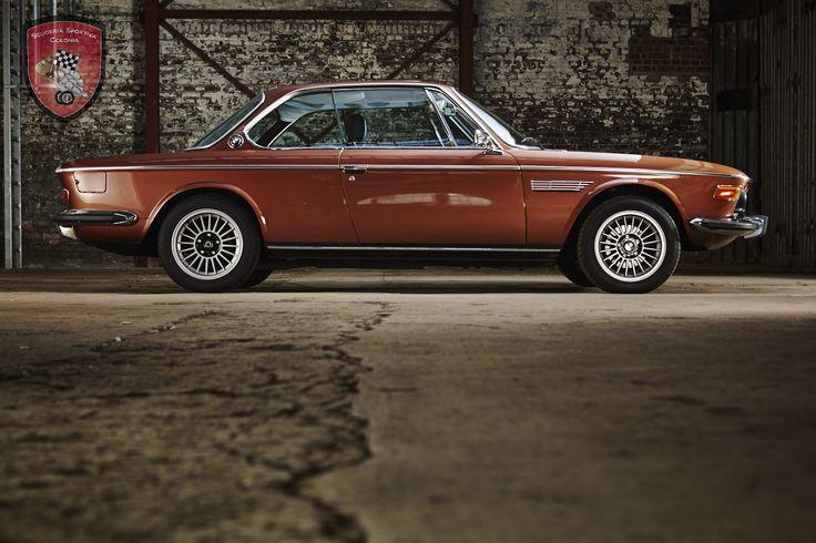Deze BMW 3.0 CSI wordt in Duitsland te koop aangeboden door Scuderia Sportiva Co…