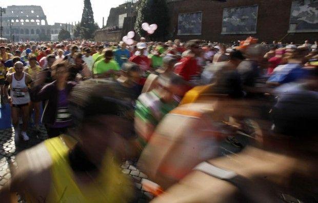 Marathon in Rome, 2012