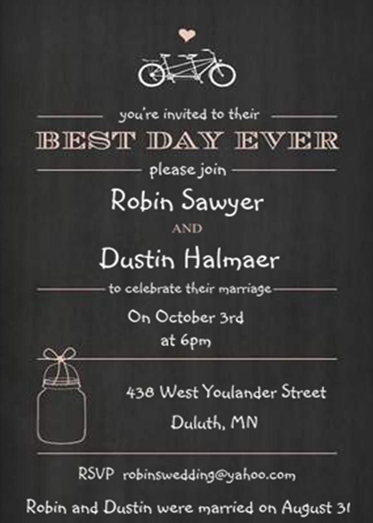 Best 25 Elopement party ideas – Wedding Party Invitation