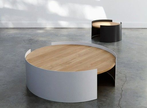 Moon Tables — from Ethnicraft's Universo Positivo collection