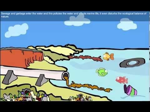 iBall Edu-Slide DEMO Video - Water Pollution