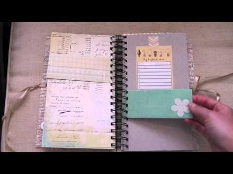 Flip through handmade album
