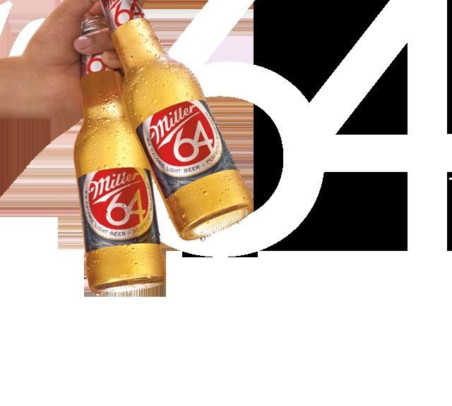 7. Favorite summer drink: Miller 64