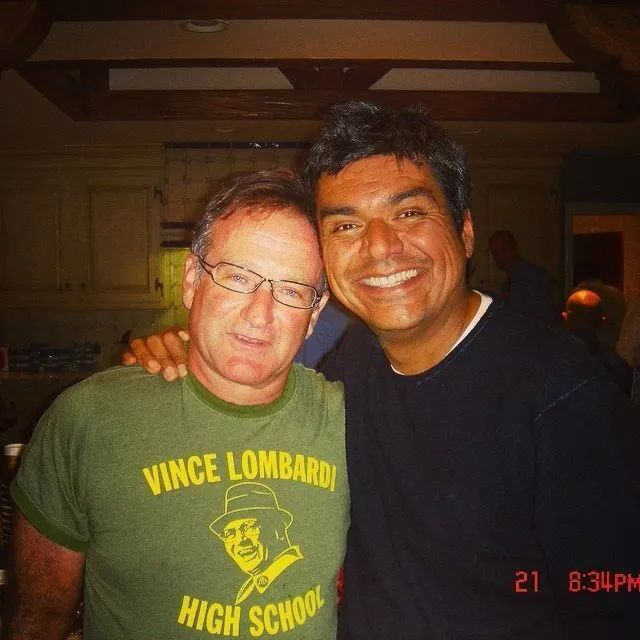 Robin Williams with George Lopez