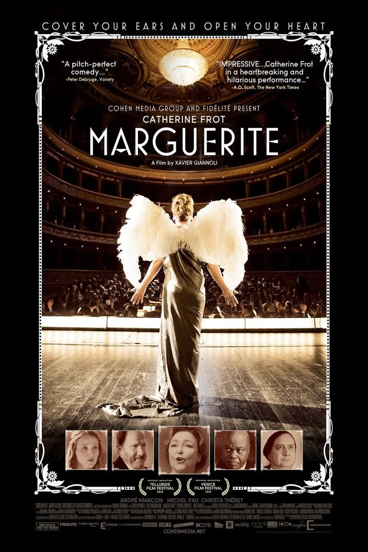 French Film Marguerite-J'adore! Sweet movie with a heart of gold and a voice that longs to be heard.