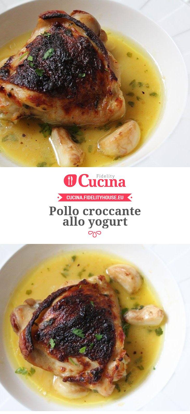 #Pollo croccante allo #yogurt della nostra utente Vittoria. Unisciti alla nostra Community ed invia le tue ricette!