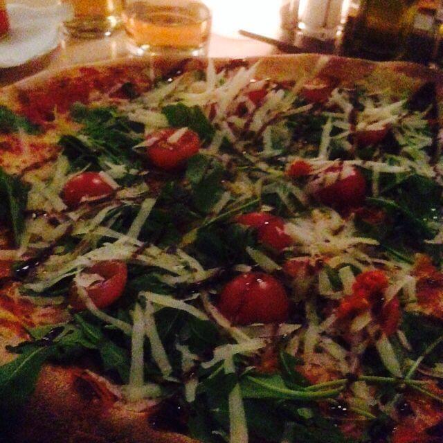 San Marino pizza, Gatto Matto Restaurant, Bratislava