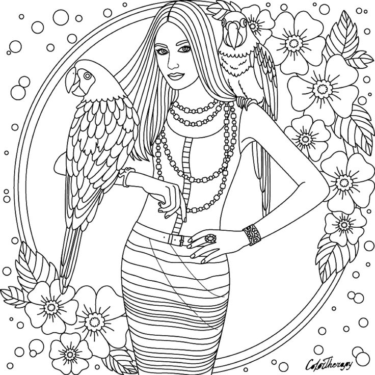 therapy coloring pages - 1676 best images about colorir pessoas on pinterest